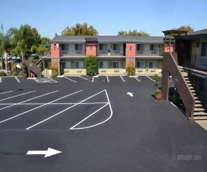 Days Inn & Suites Lodi - Days Inn Lodi Parking Lot