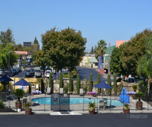 Days Inn & Suites Lodi - Pool and Sundeck at Days Inn Lodi