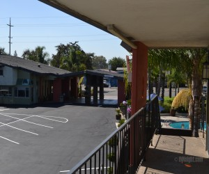 Days Inn & Suites Lodi - View from Second Floor