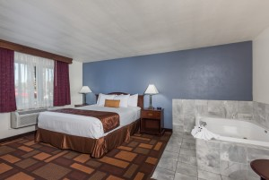 Welcome to Days Inn & Suites Lodi - King Bedroom